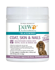 Paw Coat Skin Nails 300g Blackmores