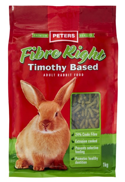 Peters Fibre Right Timothy Based 1kg