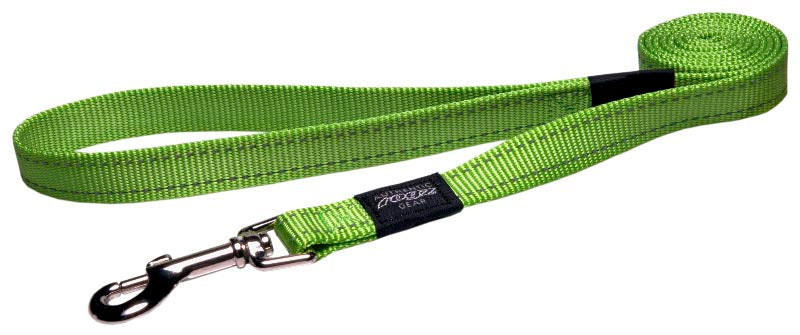 Rogz Classic Leash Lime Large 140cm