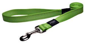 Rogz Lumberjack Leash Lime 120cm