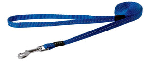 Rogz Nitelife Leash 180cm Blue