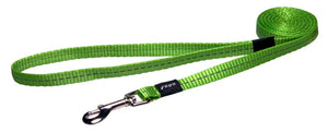 Rogz Nitelife Leash 180cm Lime