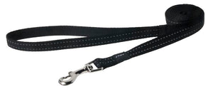 Rogz Classic Leash Black Medium 140cm