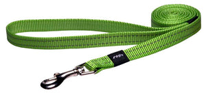 Rogz Classic Leash Lime Medium 140cm
