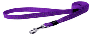 Rogz Classic Leash Purple Medium 140cm