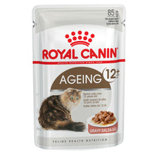 Load image into Gallery viewer, Royal Canin Ageing 12 + Gravy Wet Food 85g