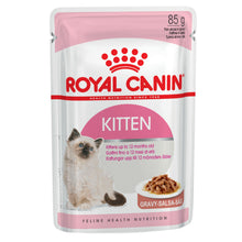 Load image into Gallery viewer, Royal Canin Kitten Gravy Wet Pouch 85g