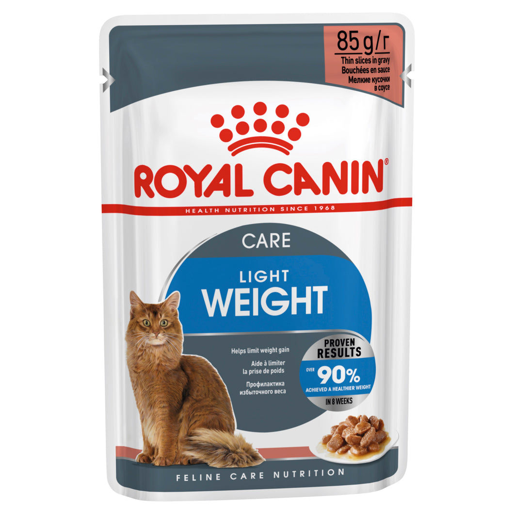 Royal Canin Ultra Light Wet Food in Gravy 85g