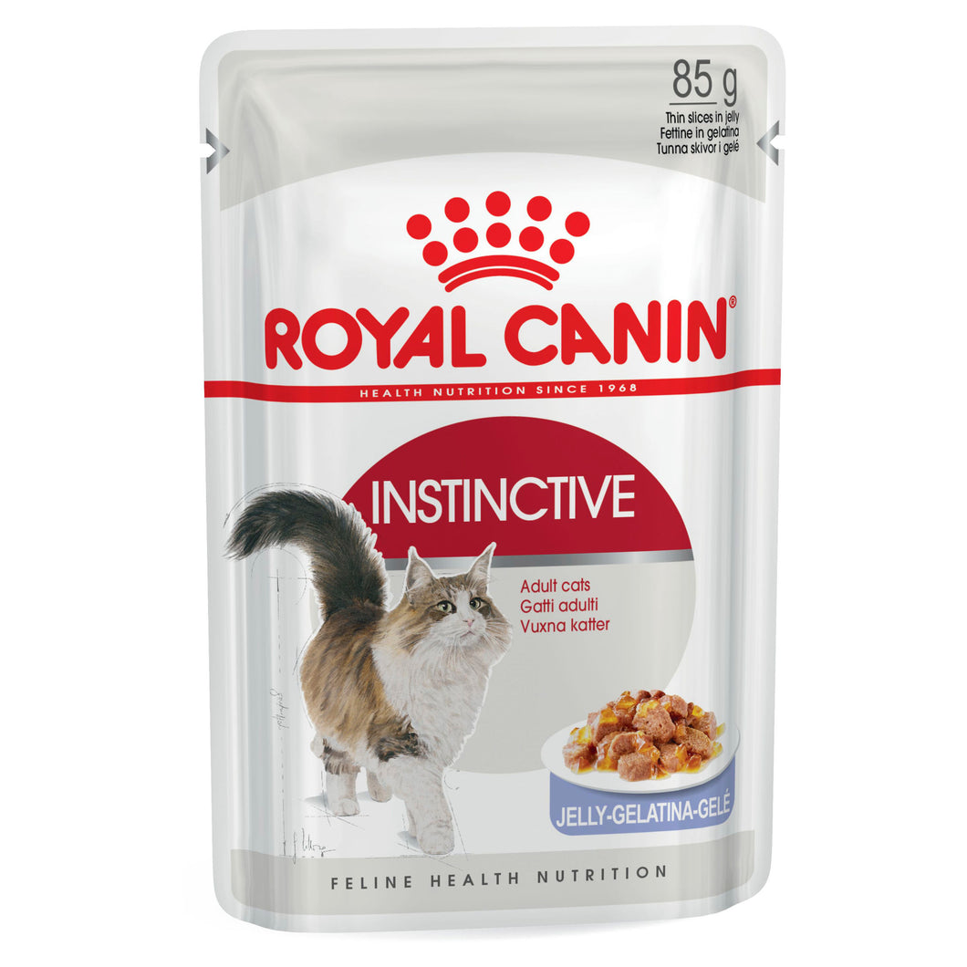 Royal Canin Instinctive Jelly Wet Food 85g