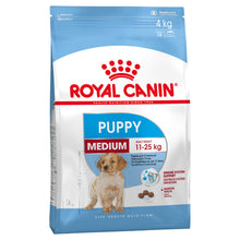 Load image into Gallery viewer, Royal Canin Dog Medium Puppy 4kg