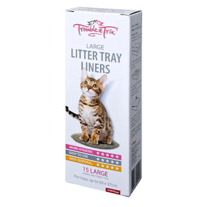 Trouble & Trix Litter Liners Large
