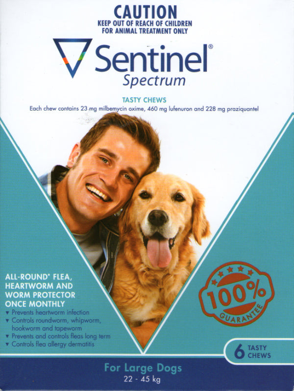 Sentinel Chew Large 22 to 45kg Dogs 6 pack