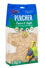 Load image into Gallery viewer, Whistler Percher Treat – Carrot & Apple 1.2kg