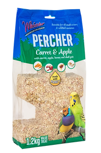 Whistler Percher Treat – Carrot & Apple 1.2kg