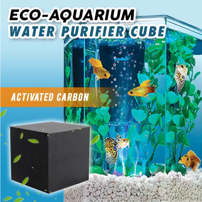 🔥 50% OFF 🔥 - TED™ Eco-Aquarium Water Purifier Cube