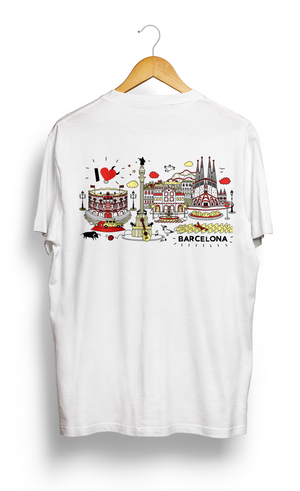 Load image into Gallery viewer, T-SHIRT • I Love BARCELONA •
