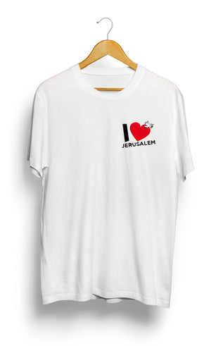 Load image into Gallery viewer, T-SHIRT • I Love JERUSALEM •