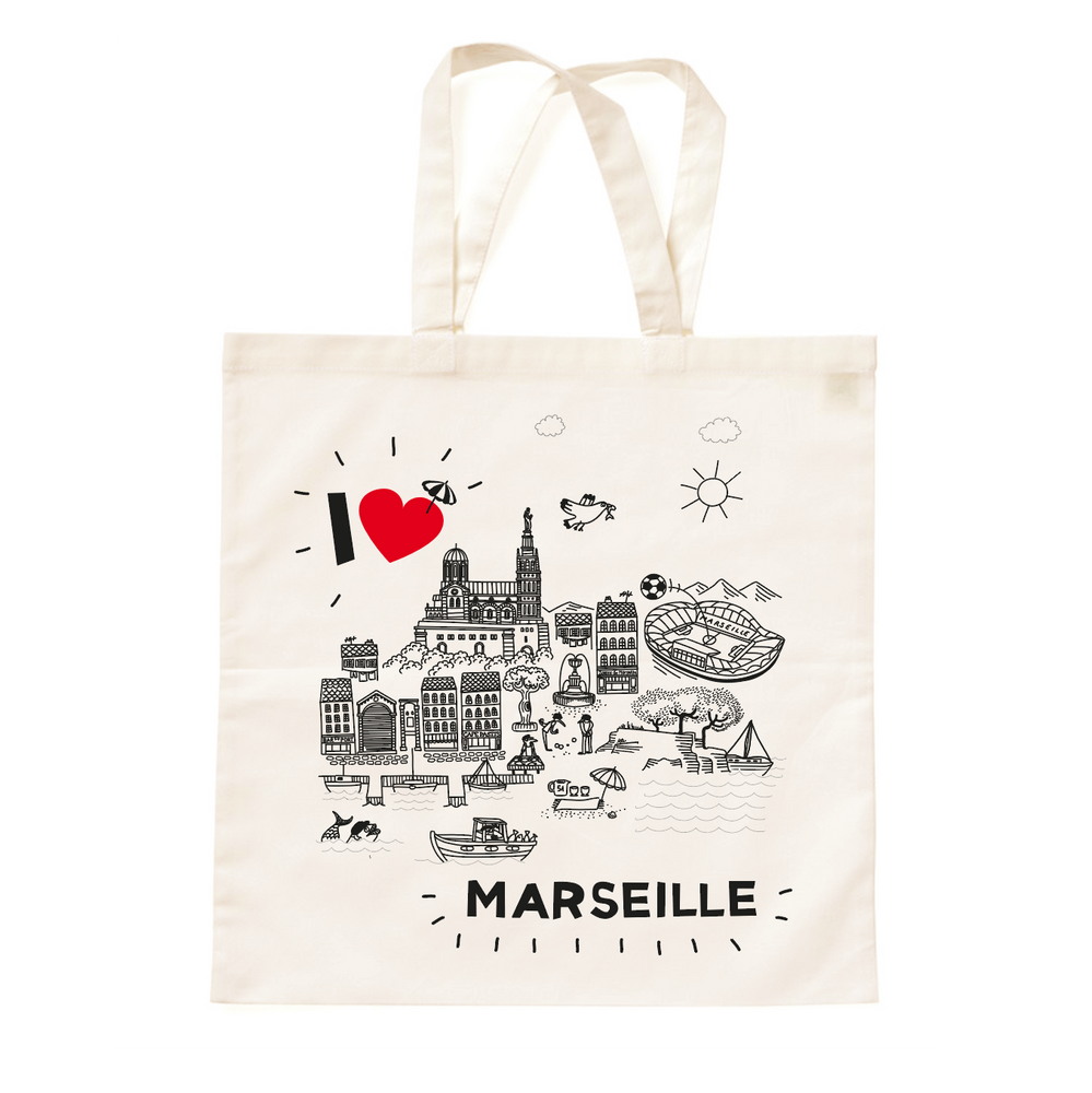 Load image into Gallery viewer, TOTE • I Love MARSEILLE •