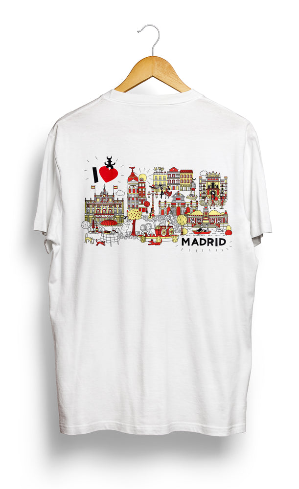 Load image into Gallery viewer, T-SHIRT • I Love MADRID •