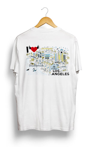 Load image into Gallery viewer, T-SHIRT • I Love LOS ANGELES •