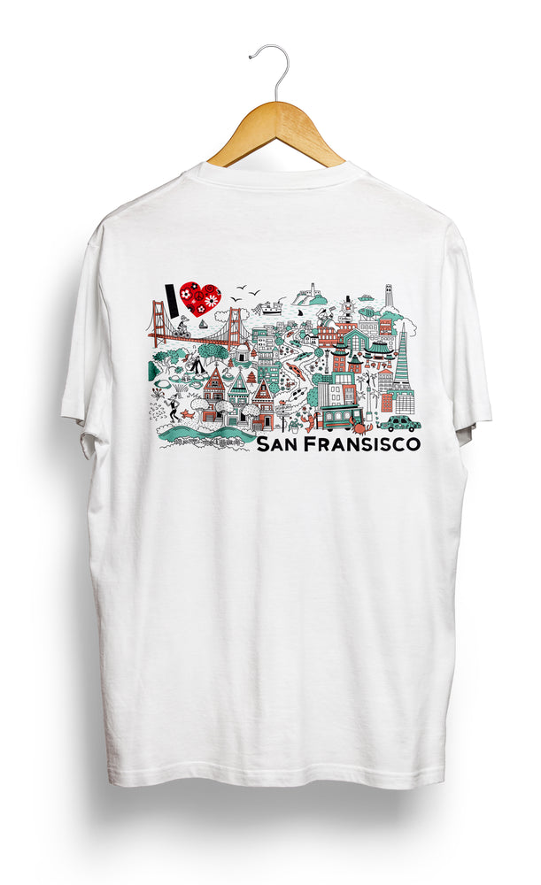 T-SHIRT • I Love SAN FRANCISCO •