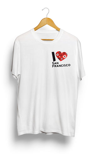 Load image into Gallery viewer, T-SHIRT • I Love SAN FRANCISCO •