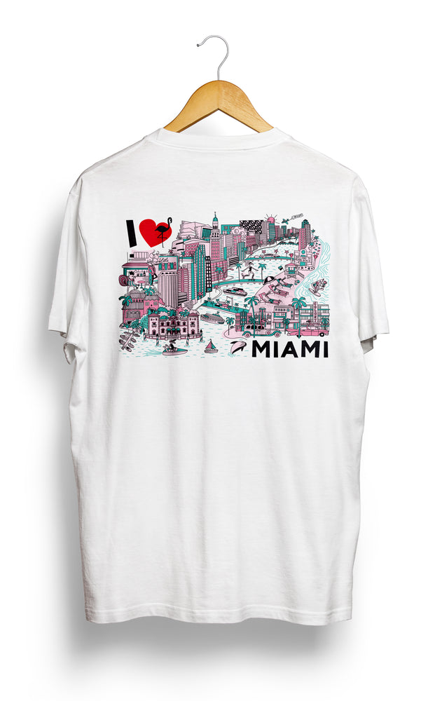 T-SHIRT • I Love MIAMI •