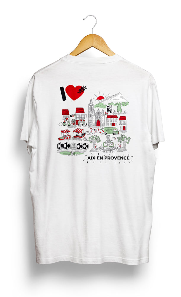 Load image into Gallery viewer, T-SHIRT • I Love AIX •