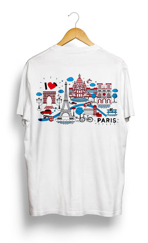 Load image into Gallery viewer, T-SHIRT • I Love PARIS •