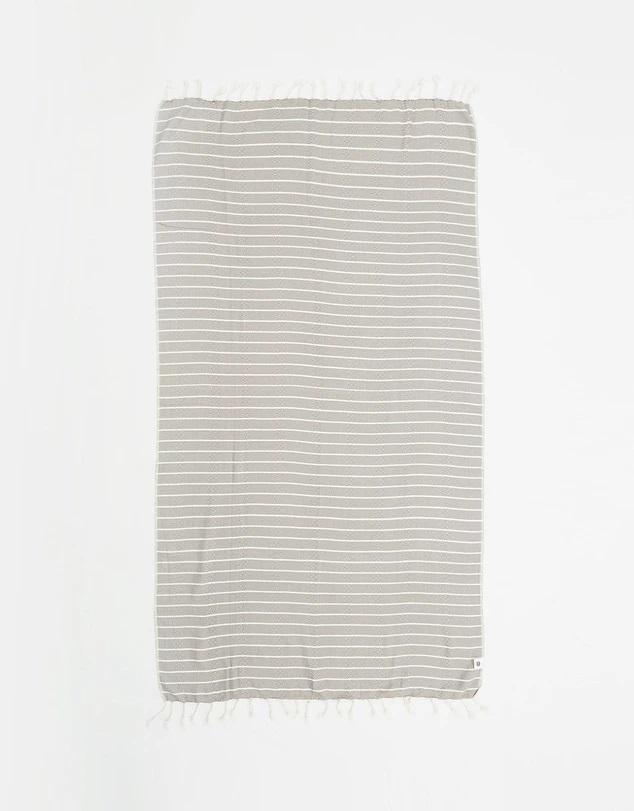 SERENTO GREY TURKISH TOWEL - Staying In Au