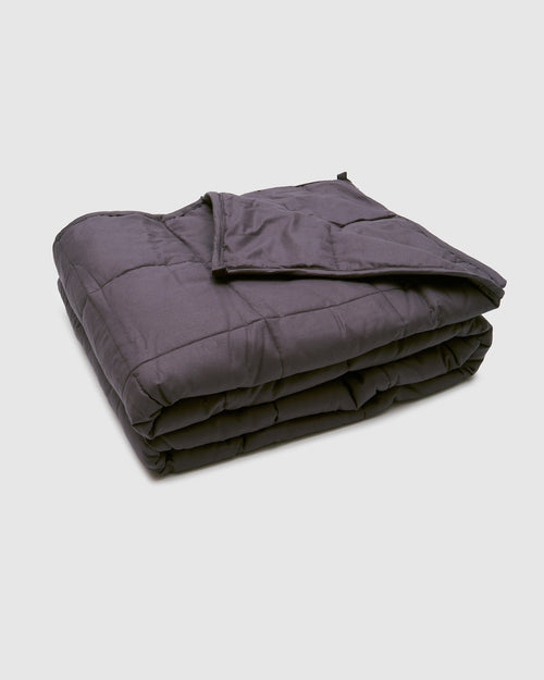 REVITALISING WEIGHTED BLANKET GREY - Staying In Au