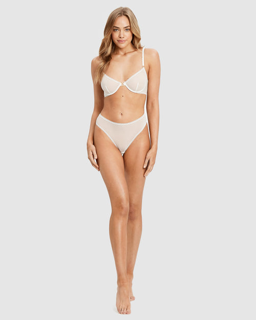Lover Underwire Bra and G-string Set