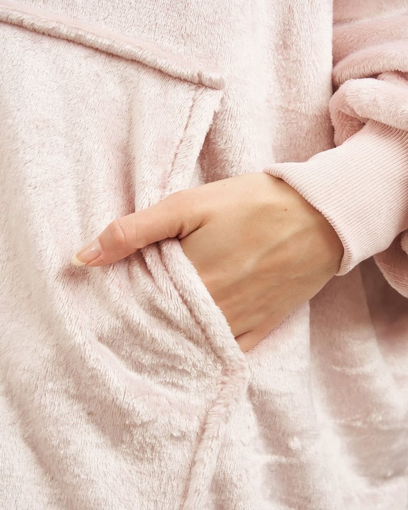 SUMMER EDITION LUXURY HOODED BLANKET PINK