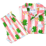 Kids Gray Malin Beach Coral PJ Set