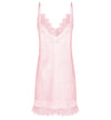 Luxe Personalised Lace Slip Nightie - Pink