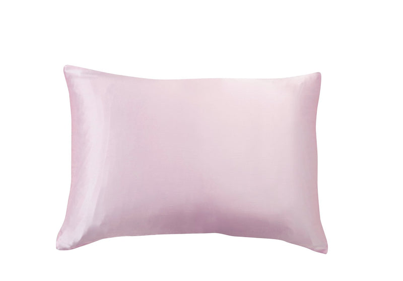 PINK Personalised Silk Pillowcase - Queen Size