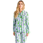 Women's Gray Malin Snow Long PJ Set