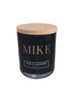 Signature Luxe Personalised Candle - Black
