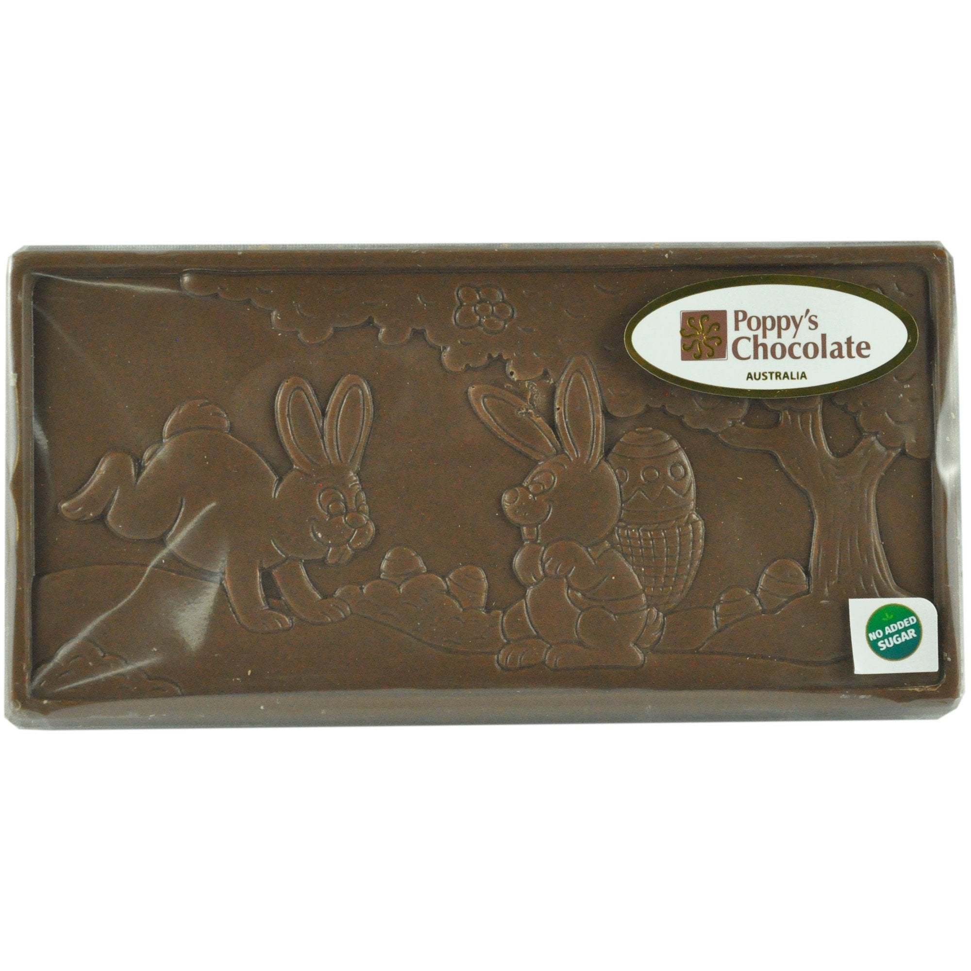 No Added Sugar Milk Chocolate Easter Scene Bar