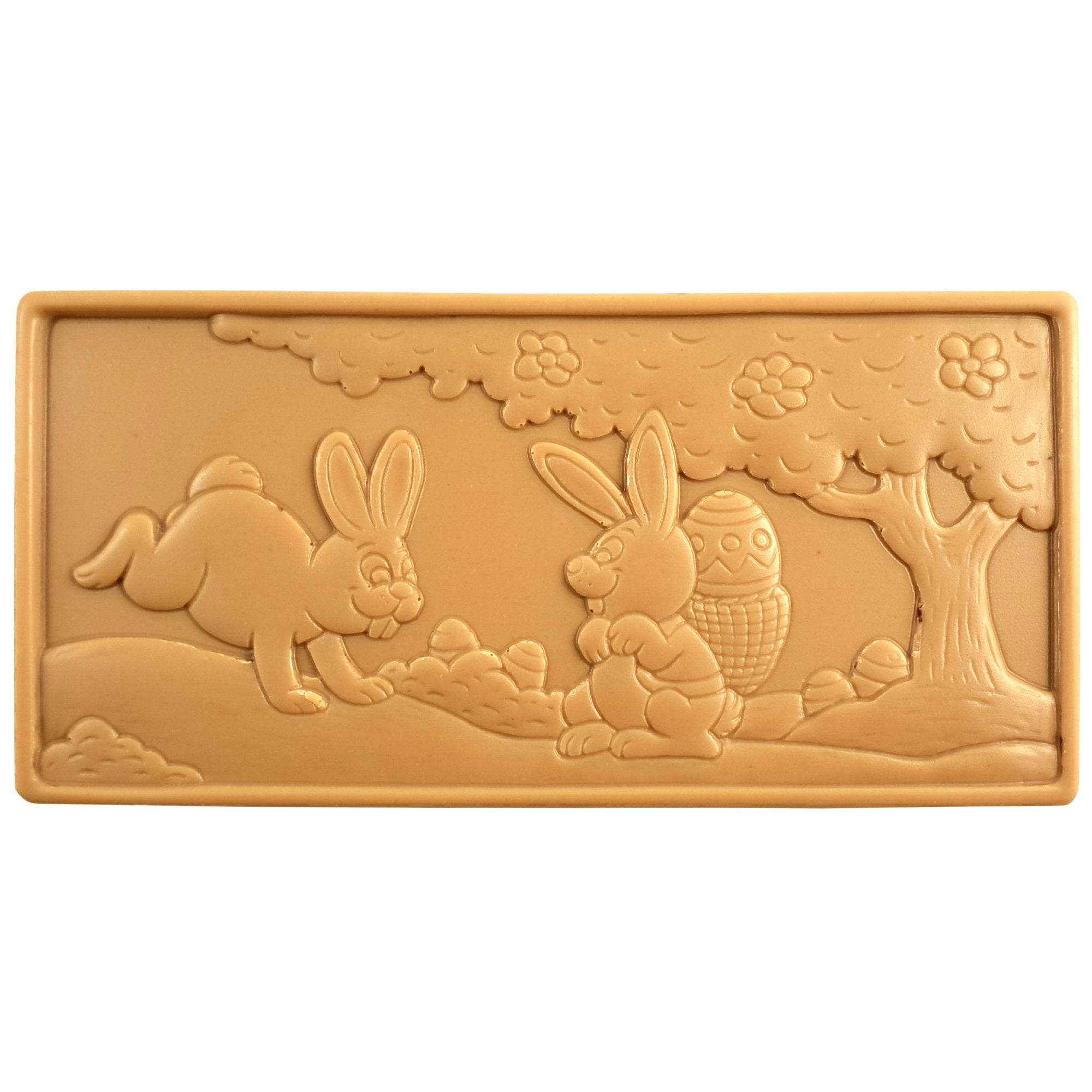Caramel Chocolate Easter Scene Bar