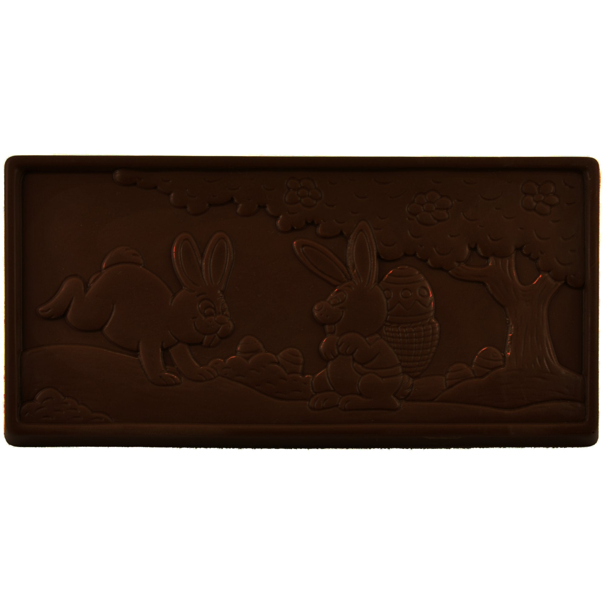 70% Dark Chocolate Easter Scene Bar