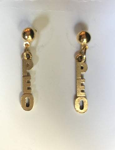 P.E.O. Earrings