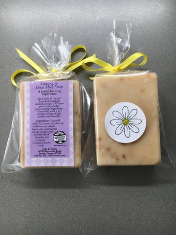 Goat Milk Soap - 3 Scents