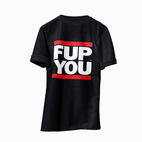 Black FUP YOU T-shirt