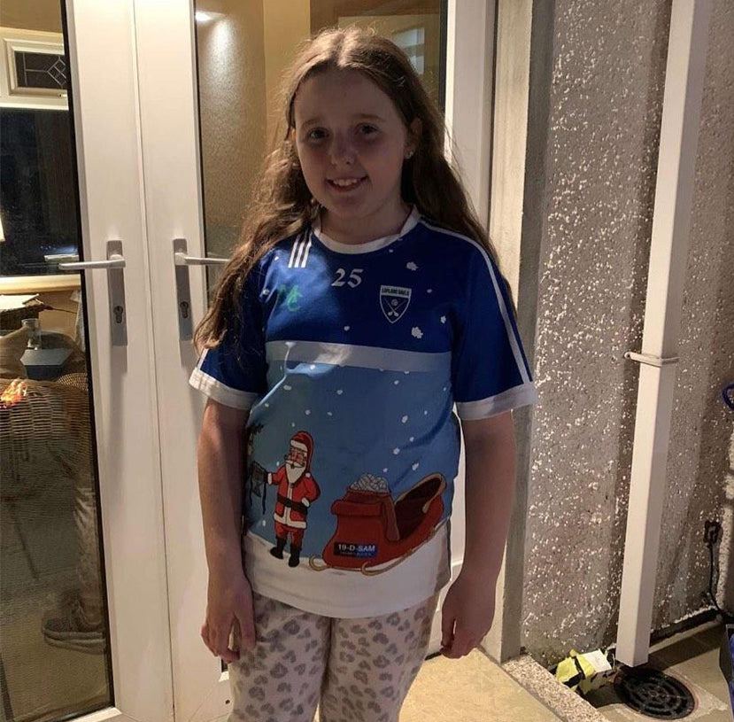 GAA Christmas Jersey- Gaelic Football- Dublin All Ireland- Sam Maguire- Dub - 4 -Sam