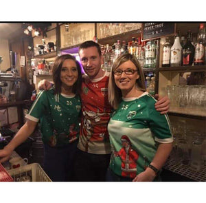 GAA Christmas Jersey- Gaelic Hurling- Lapland Gaels-limerick- All Green