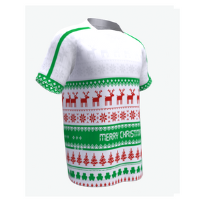 RUGBY Christmas Jersey- Green/Red/White