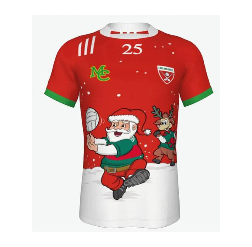 GAA Christmas Jersey- Football-Lapland Gaels- Green & Red