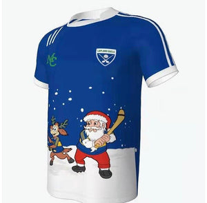 GAA Christmas Jersey- Hurling-Lapland Gaels- Blue & Gold