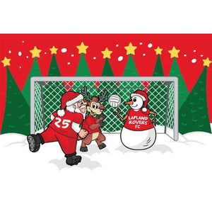 SOCCER Christmas Jersey- Lapland Rovers- Penalty Shoot Out